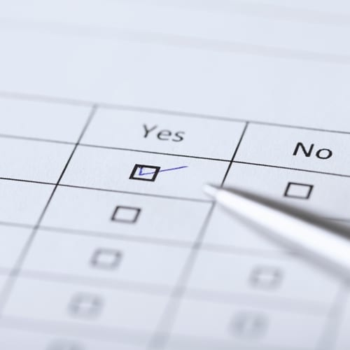 A checklist can reveal important pain points within a diving organization.