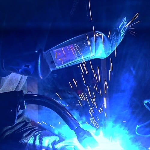 Underwater welding can be a risky profession.