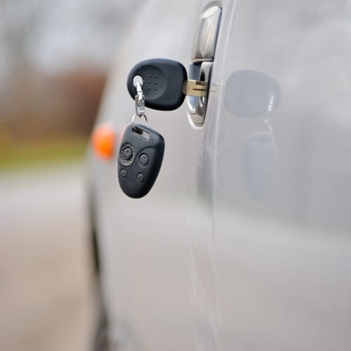 A new report suggests motorists are forgetting to take their keys, opening the door to theft.