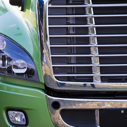 Used commercial trucks are selling for a lot less today than they were at the beginning of 2016.