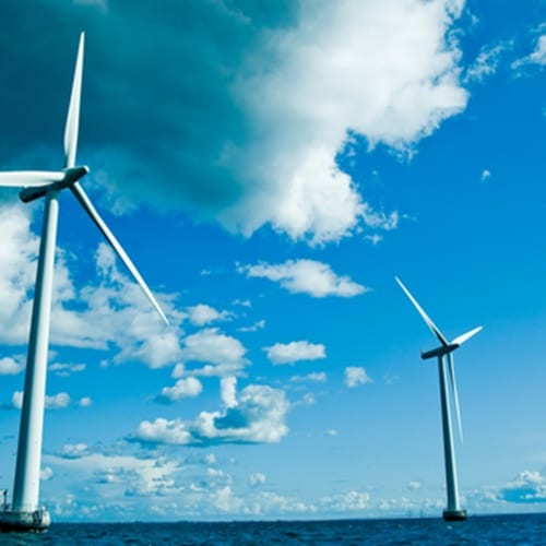 The newly created offshore wind farm on Block Island can power 17,000 homes.