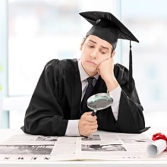 Recent college graduates may not be on the employment hunt for long.
