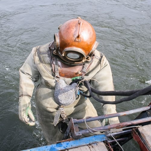 Commercial divers can increase their marketability by applying their skills in welding.