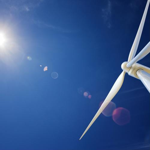Europe is increasingly relying on wind energy as a source of electrical power.