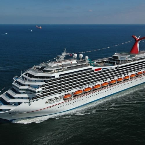 Exhausted passengers disembarkfrom disabled Carnival cruise ship after 5 days stranded at sea
