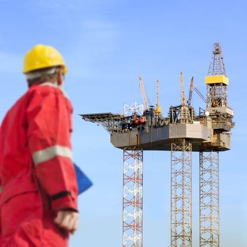Supply boat hits oil platform in North Sea